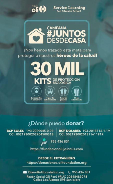 Juntos desde Casa - with Fundación Oli